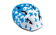 MET Super Buddy Kinderfietshelm Kinderen blauw/wit